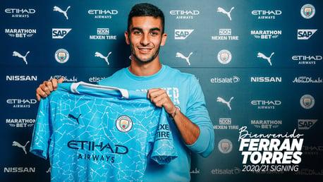 City complete deal for Ferran Torres