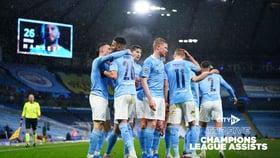 City's Top Five Champions League Assists