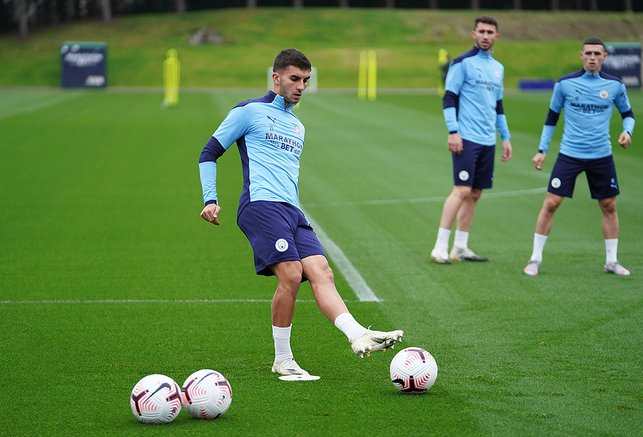 WING COMMAND: Ferran Torres is a study in concentration