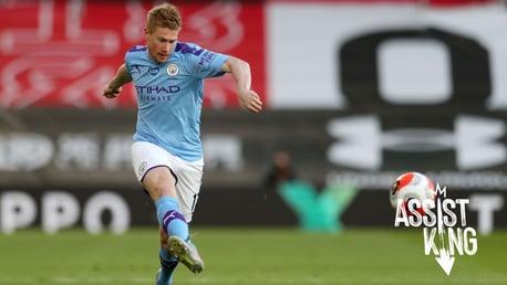 ¡Todas las asistencias de De Bruyne en la Premier League 2019/20!