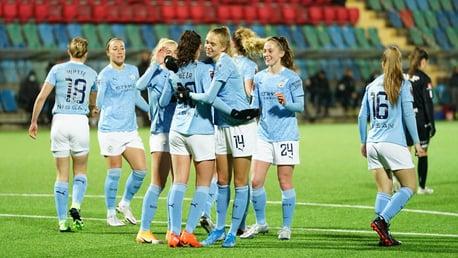 Cuplikan UWCL: Göteborg 1-2 City