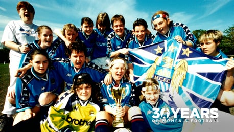 MEMORY LANE: Looking back through 30 years of women's football at Manchester City...