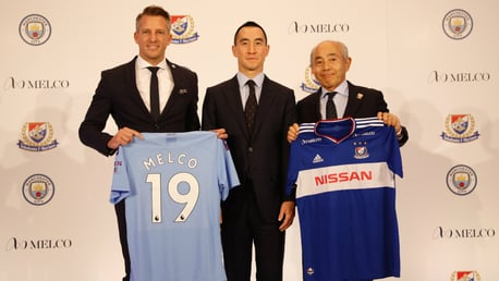 PARTNERSHIP: Manchester City has announced a new partnership with Melco Resorts & Entertainment to become the Club's Official Partner in Japan.