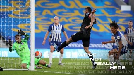 Brighton 0-5 City: resumen breve