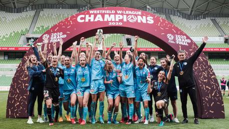 Melbourne City make W-League history