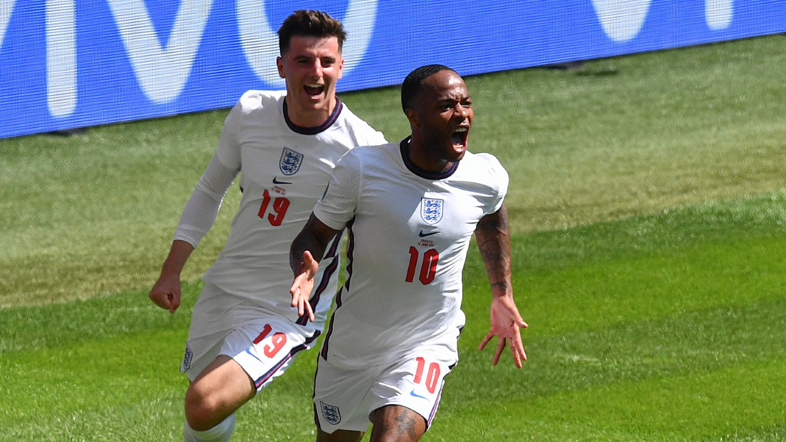 Sterling on the scoresheet to set England off and running