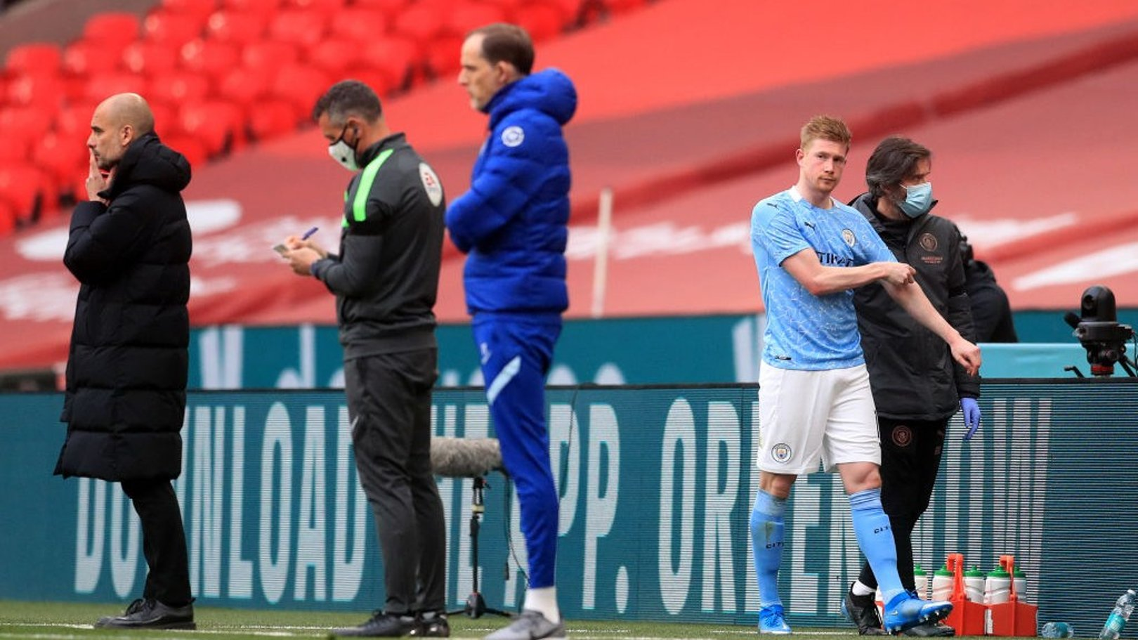Injury update: Kevin De Bruyne