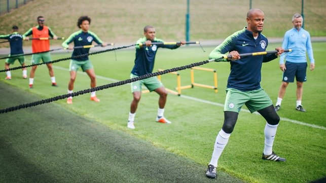 RESISTANCE IS FUTILE : Strength and conditioning, led by the skipper