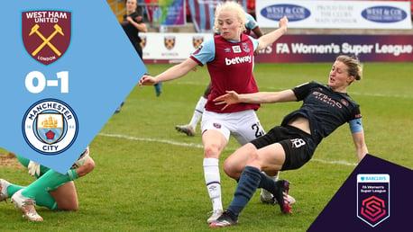 Full Match Replay: West Ham 0-1 City