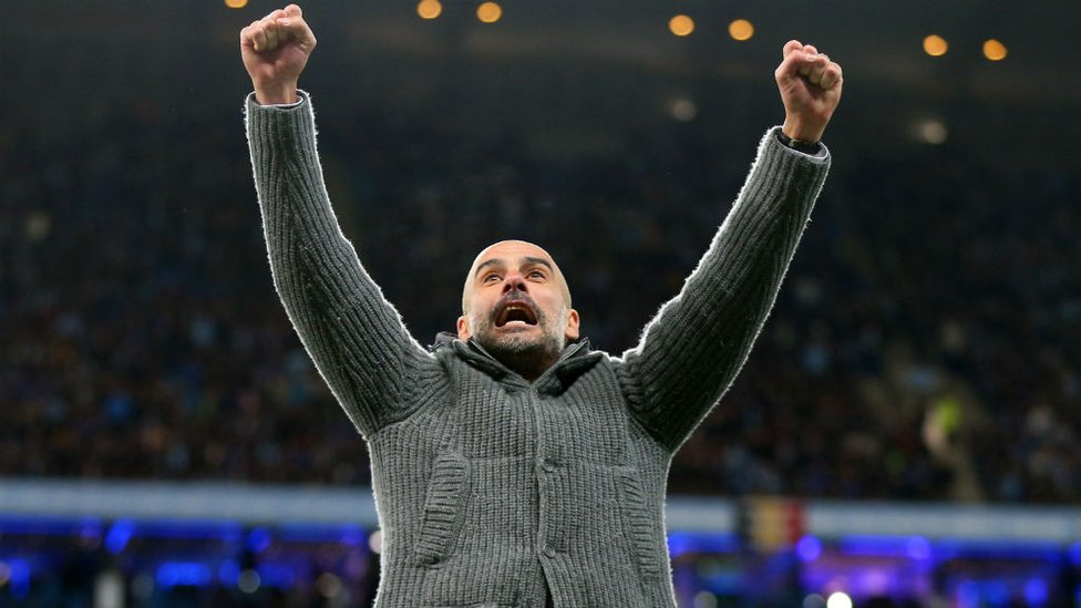 FULL TIME : Pep's reaction says it all...