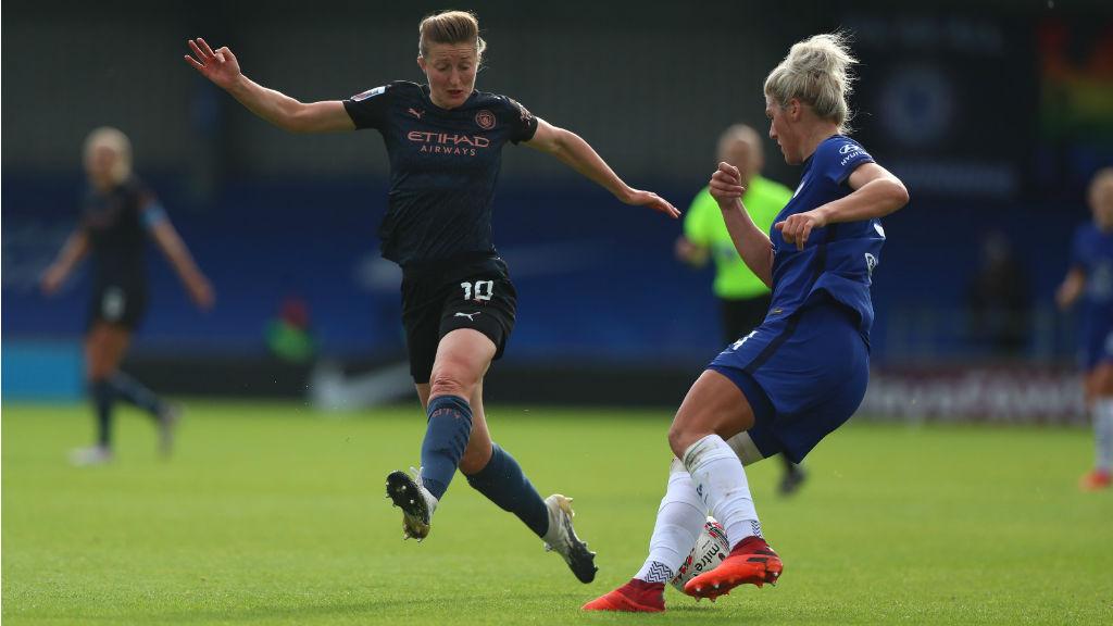 PRESS TO PLAY: Ellen White closes down Millie Bright