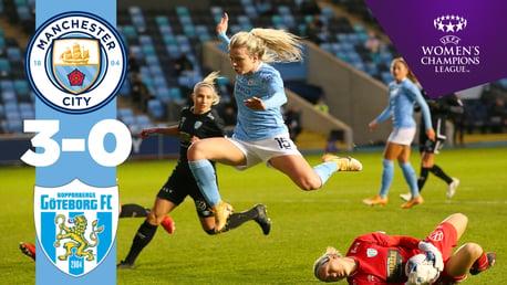 City 3-0 Göteborg: resumen