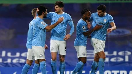 City rearguard discuss impressive defensive form