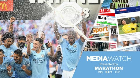 WEMBLEY WIZARDS: Manchester City opened the season in fine style with an impressive 2-0 Community Shield win over Chelsea