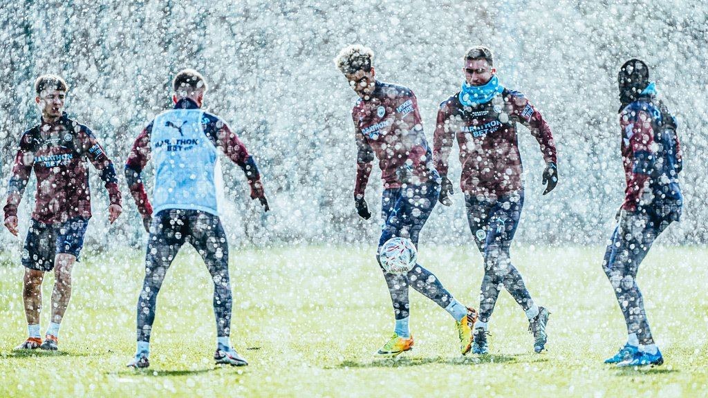 Training: Working in a winter wonderland!