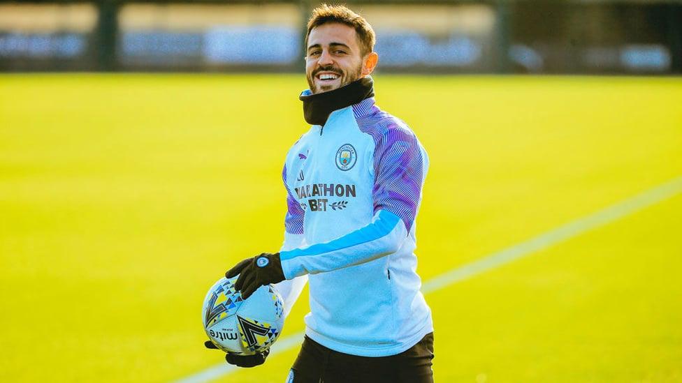 SMILEY SILVA : Bernardo beams at a sunny CFA.