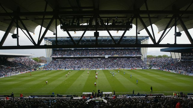 END OF AN ERA : Final game at Maine Road in 2003.