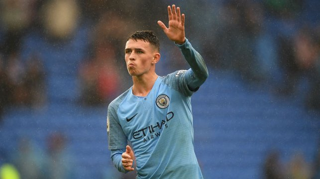 GAME TIME : Phil Foden impressed after coming off the bench