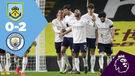 Burnley 0-2 City: Full Match Replay