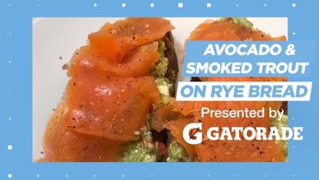 Cooking with City: Avocado and smoked trout on rye