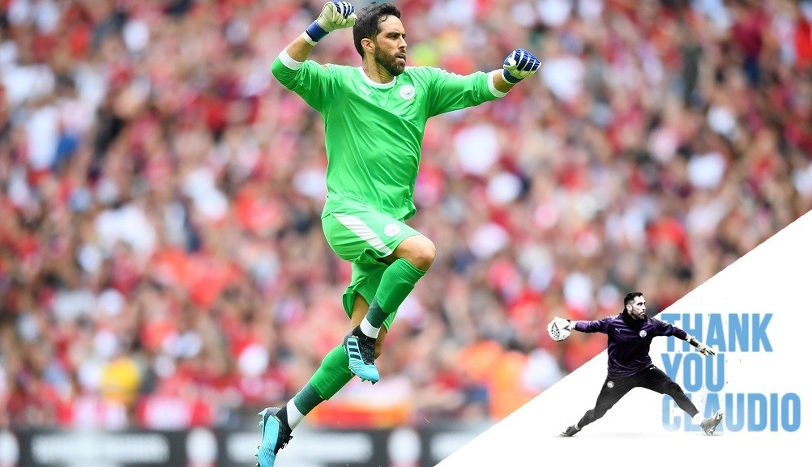 Claudio Bravo leaves Manchester City