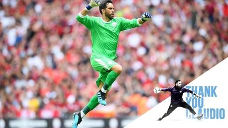 Claudio Bravo Tinggalkan Manchester City