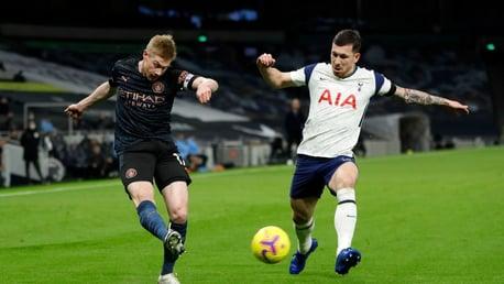 Spurs 2-0 City: Cuplikan Singkat