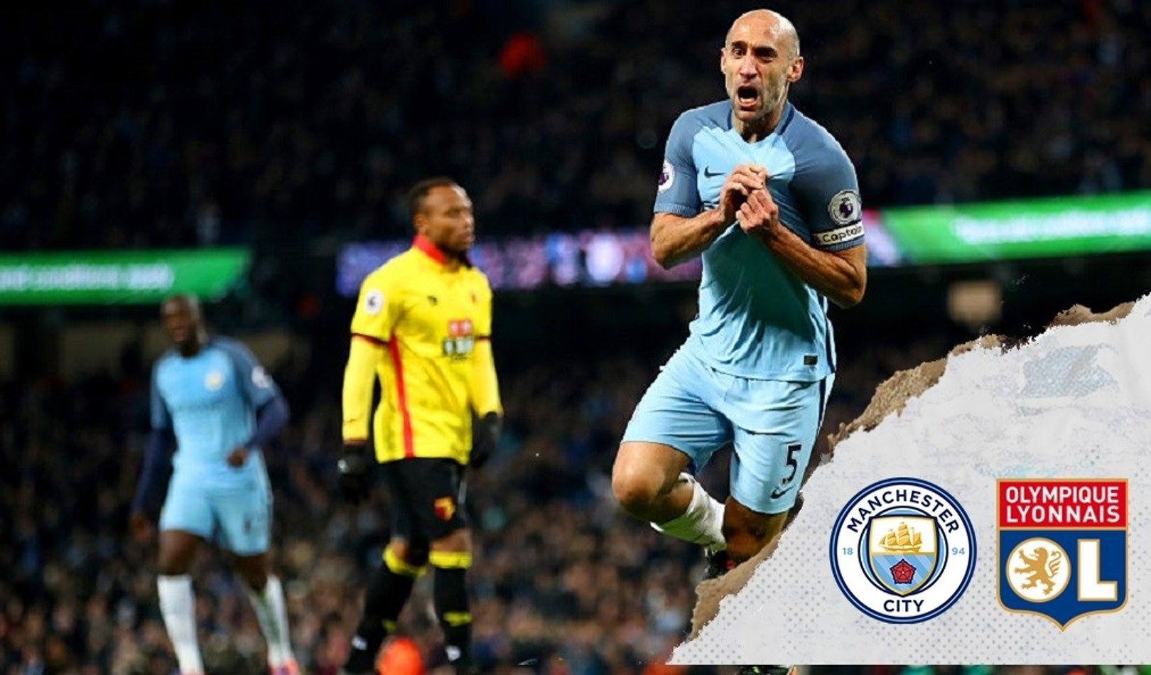 Zabaleta: City will be wary of 'dangerous' Lyon