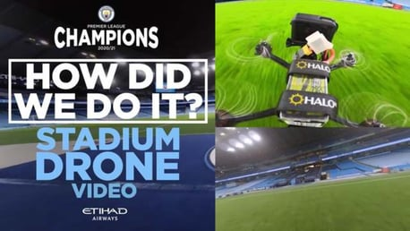 Etihad Stadium Drone: How did we do it?