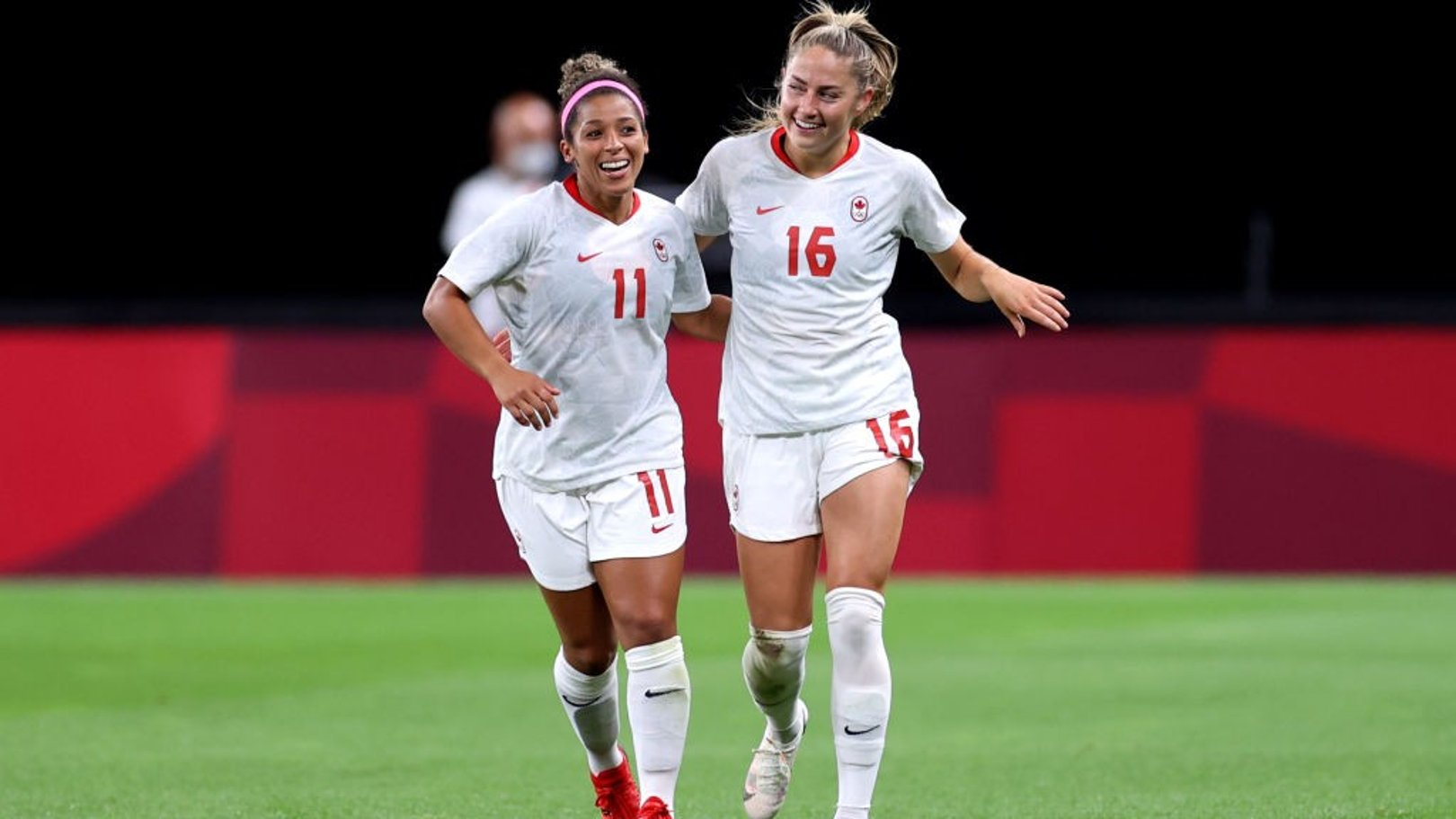 Beckie brace fires Canada to victory, USA hit New Zealand for six