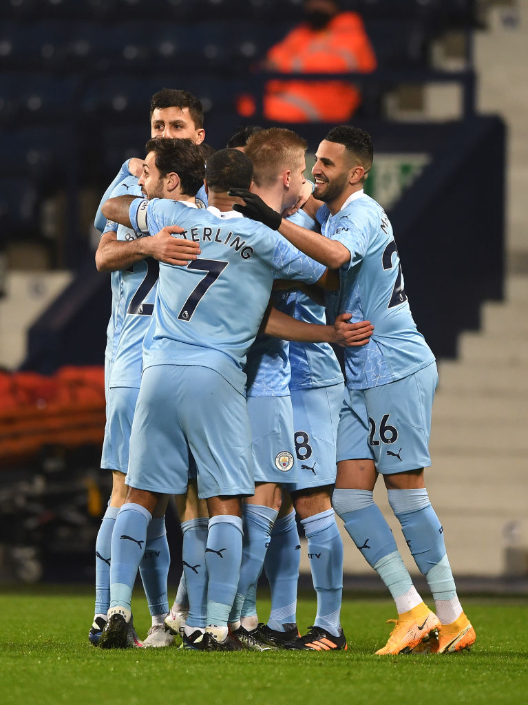 Lima Gol City Benamkan West Brom