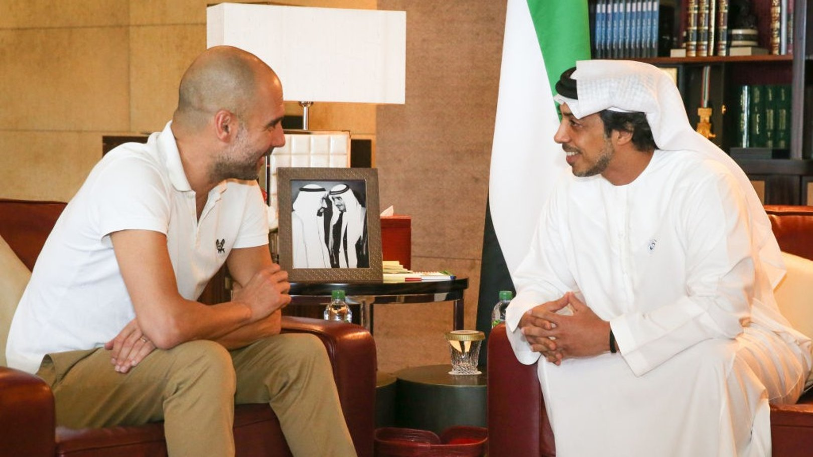 'Class gesture': Guardiola delighted with HH Sheikh Mansour trophy purchase