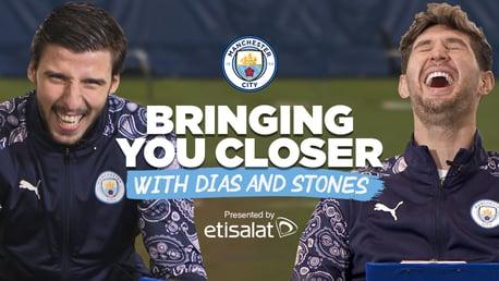 Rúben Dias e Stones respondem perguntas dos fãs