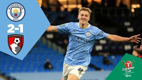 City 2-1 Bournemouth: Full-match replay