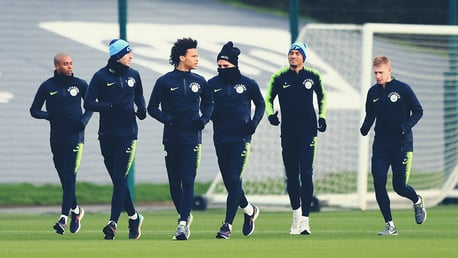 SQUAD: Preparing for the Cup!