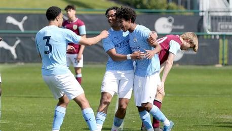 Ten-man Under-18s record courageous win over Burnley