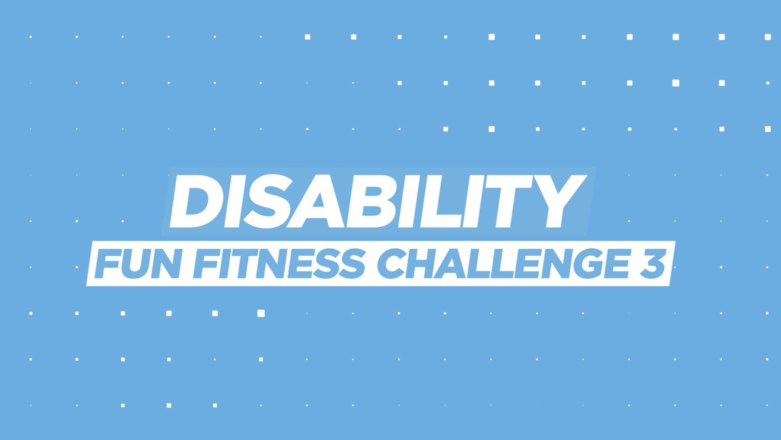 Disability fitness challenge: 3
