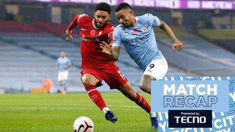City v Liverpool: Match recap