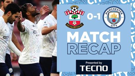 Rekap Pertandingan: Southampton 0-1 City