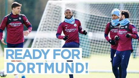Latihan Senin: Siap untuk Dortmund!