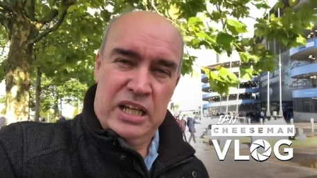 City v Wolves: Ian Cheeseman vlog