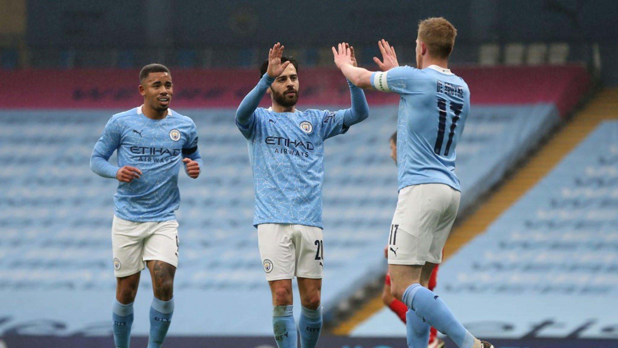 Gallery: Bernardo brace inspires cup win