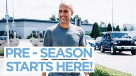 Training: Pre-season starts here!