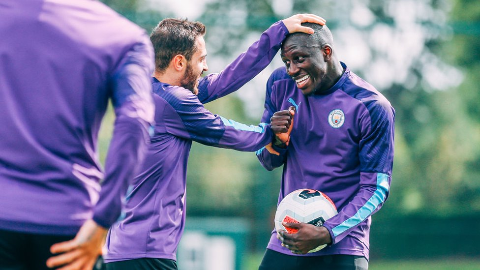 MY GUY : Back in training, back amongst the fun.