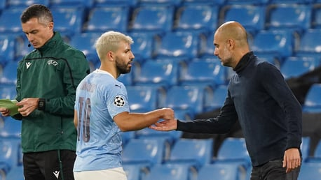 Guardiola: 'One step at a time' for Aguero return