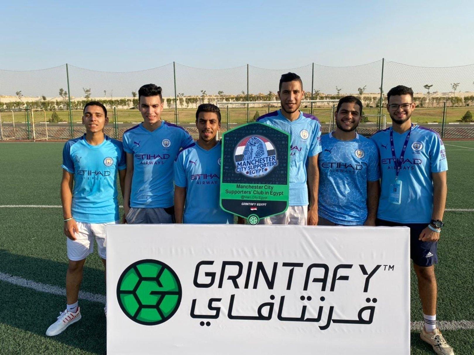 فريق رابطة مشجعي السيتي في مصر