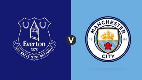 Everton v City match day live