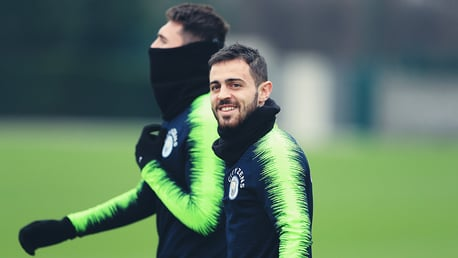 SMILES BETTER: No wonder Bernardo Silva looks happy after his heroics against Liverpool!