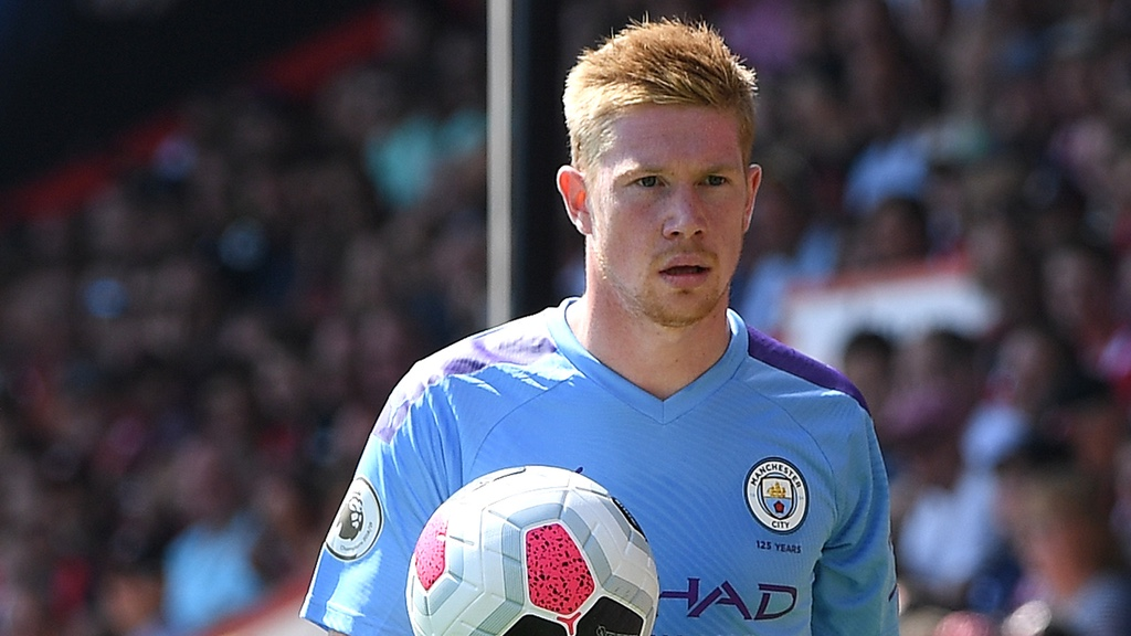 PULLING STRINGS : Kevin De Bruyne controlled the game in the midfield