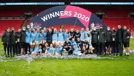 Roundtable with Manchester City Women's Coaching Team.